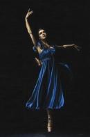 Graceful Dancer in Blue