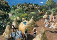 among the sheaves