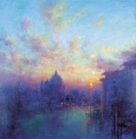 setting sun venice